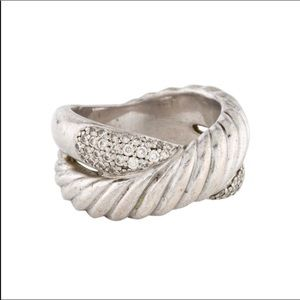 David Yurman Diamond designer ring